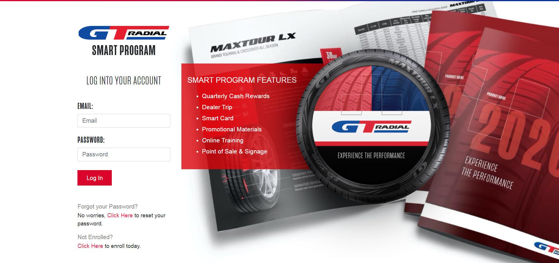 New GT Radial Website