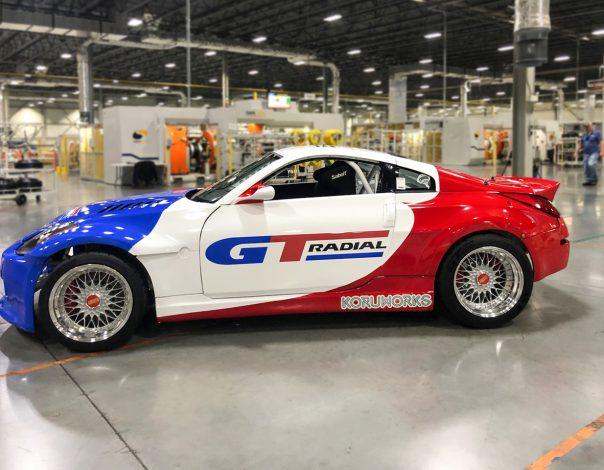 GT Radial Returns to Formula Drift